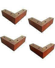 L SHAPE Solid Wood Furniture Legs