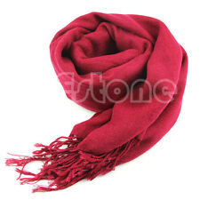 Winter Women Wrap Scarf Cashmere Wool Warm Scarves Long Large Range Shawl Tassel