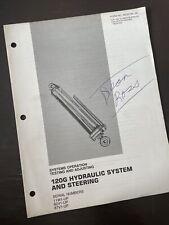 Caterpillar 120g Motor Grader Hydraulic System Test Service Repair Manual Shop