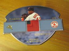 2003 Fleer EX Diamond Essentials PATCH #DEGU PM Pedro Martinez Red Sox #'d 55 ZB