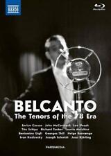 BELCANTO - THE TENORS OF THE 78 ERA (5 BLU-RAY) NEW DVD