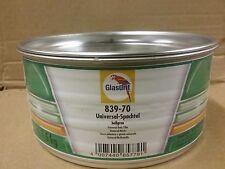 Glasurit 839-70 2K Universal Body Filler  1.5 kilo  Light Grey Polyester Stopper