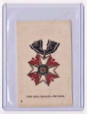 c1910 Itc Military Medals Silks The Red Eagle - Prussia b