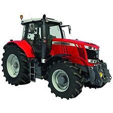 BRITAINS 43107A1 1:32 MASSEY FERGUSSON 7718 Diecast Farm Toy Tracteur Rouge Nouveau