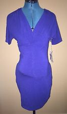 *NEW Woman's Jules & Jim Maternity Summer Spring Tunic Top Shirt Blue Size XS