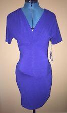 *NEW Woman's Jules & Jim Maternity Summer Spring Tunic Top Shirt Blue Size XS