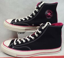 b8d4eb193974 New Mens 11.5 Converse CT 70 HI Black Cabare Pink Canvas  90 149445C