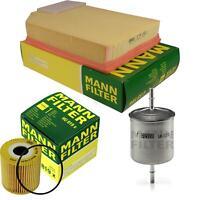 MANN-FILTER PAKET Luftfilter Ölfilter Kraftstofffilter Volvo XC90 I