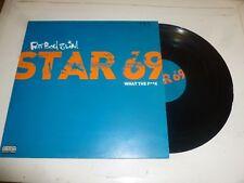 """FATBOY SLIM - Star 69 - 2001 UK 3-track 12"""" Vinyl Single"""