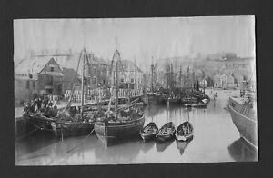 Original albumen print photograph Whitby 1888  FPP3