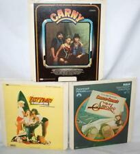 3 LASERDISCS UP IN SMOKE 1981, FAST TIMES AT RIDGEMONT HIGH 1983, CARNY 1982