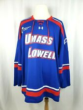 UNDER ARMOUR Mens Size 3XL Umass Lowell River Hawks Hockey Jersey NWOT New