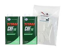 2 x Fuchs Titan CHF 11S 1L Hydraulic, Power Steering Fluid, OE BMW Ford