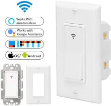 Smart Life Remote Control Wall Touch WiFi Switch For Amazon alexa Google home