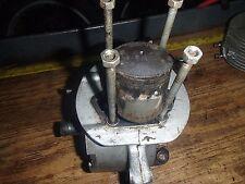 Harley Davidson hummer 1966 175 BTH Bobcat motor cases/crankshaft/transmission