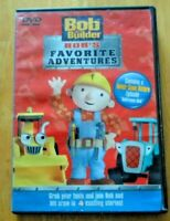Bob the Builder - Bob's Favorite Adventures, 4 exciting stories (DVD, 2004)