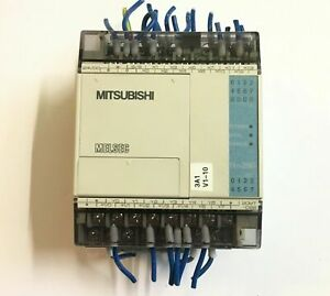 Mitsubishi Melsec Programmable controller FX1S-20MT-DSS Out 30VDC 0.5A -used-