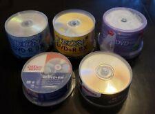 Blank DVD+R (120 total) & DVD+RW (50 total)