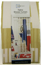 "Texas Home ~ Fabric Shower Curtain ~ 70"" X 72"" ~ Mainstays ~ 100% Polyester"