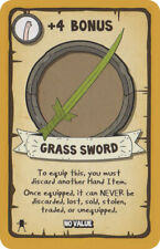 Munchkin Adventure Time Grass Sword Promo Card Steve Jackson Games USAopoly