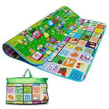 Play Mat Educational 2 Sides Baby Kids Game Soft Foam Picnic Carpet 200 x 180cm