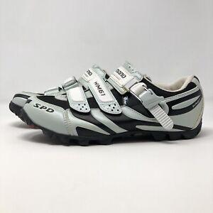 Shimano SH-WM61 Women's Size US 8.5 EU 41 Pedaling Cycling Shoes SPD White Black