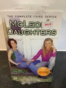 McCLEOD'S DAUGHTERS - THIRD SEASON VHS/PAL AUSTRALIAN DRAMA. NEW/SEALED