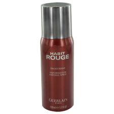 HABIT ROUGE by Guerlain 5 oz 150 ml Deodorant Spray for Men New in Box