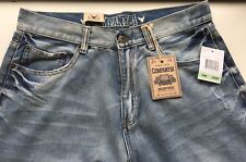 NWT COMPANY 81 GREEN WICH STRAIGHT CLASSIC FIT MEN'S BLUE JEANS SIZE 34 X 32INS