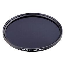 RISE(UK) 77MM 77mm Neutral Density ND8 filter for ALL DSLR SLR Camera lens .