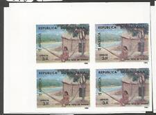 Dominican Republic SC 1094-5 Imperf Block of 4 MNH (1ctw)