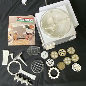 Simac PastaMatic 700 Automatic Electric Pasta Maker Italian Machine With Extras