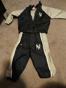 Yankees Majestic baby boys pants outfit track suit Size 12 months