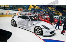 Nissan 350Z Front+Rear  Fenders style | F+R Overfenders Z33 Arches