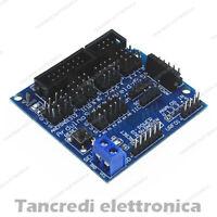 Sensor shield V5.0 (arduino-compaibile) uno mega 2560 adattatore morsettiera