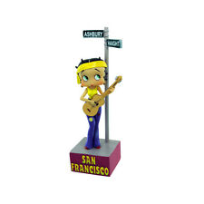 "Betty Boop Playing Guitar Figurine by Character Collectibles NIB 6"" T by 3 1/2""W"