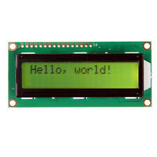 Yellow backlight LCD display 1602 16x2 Characters HD44780 display for Arduino