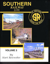 SOUTHERN RAILWAY in Color, Vol. 3 - F3s working side-by-side w/ SD24s (NEW BOOK)