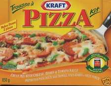 Kraft Pizza Kit from Canada, 8 pizzas!  Free Fast  Ship
