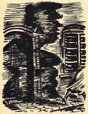 Der SCHATTEN - Frans MASEREEL  - L´OMBRE - 1947