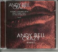 Erasure ANDY BELL Crazy REMIXES 5 TRX SEALED CD single VINCE CLARKE Cicada MHC