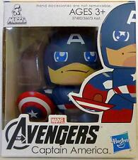 "CAPTAIN AMERICA The Avengers Movie Mini Muggs 3"" inch Vinyl Figure Hasbro 2012"