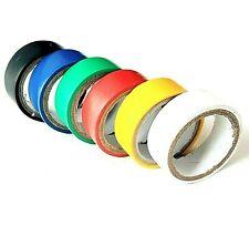 6 x PVC Insulation Tape Coloured Electrical Wiring Flame Retardant 19mm x 3M Set