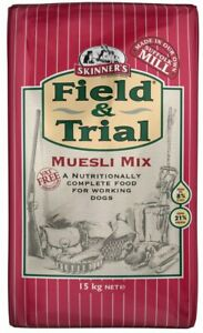 Skinners Field & Trial Muesli Mix Dog Food 15KG bag with FREE NEXT DAY DELIVERY-