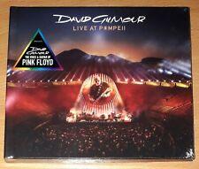 """David Gilmour """"Live At Pompeii"""" 2-CD Digibook (Progressive Rock) PINK FLOYD"""
