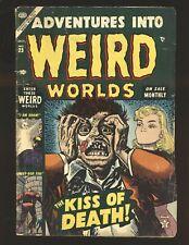 Adventures Into Weird Worlds # 23 Good Cond.