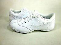 Nike Women's Cheer Unite White Cheerleader Sneakers,US Size 5