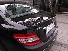 TRUNK SPOILER for Mercedes Benz C W204 Saloon WING Lip boot Sedan LIMOUSINE