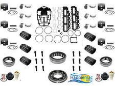 Johnson Evinrude 150 175 60 Degree Carb V6 Powerhead Rebuild Kit & Main Bearings