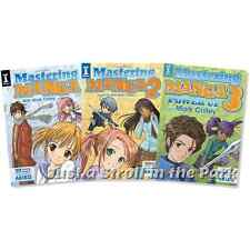 Mastering Manga: 1 2 3 100 Drawing Lessons Books by Mark Crilley Complete Sets